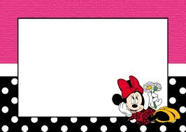 Free Printable Minnie Mouse Invitation Template by Free Printable Minnie Mouse Invitation Templates Part 3
