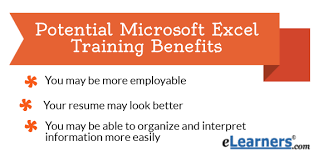 10 ways microsoft excel training can benefit you and land jobs