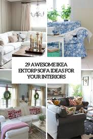 Ikea Slipcover Sofa by 29 Awesome Ikea Ektorp Sofa Ideas For Your Interiors Digsdigs