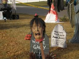 Outdoor Halloween Tombstone Decorations by Halloween Yard Decor The Best Outdoor Halloween Decorations
