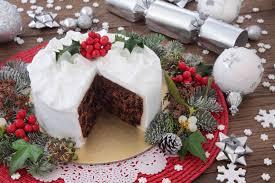 light and fruity christmas cake