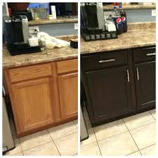 restain kitchen cabinets darker restaining kitchen cabinets bloomingcactus me