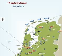 map netherlands mytouristmaps travel and tourist maps tips and utilities