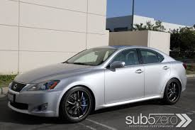 sporty lexus 4 door showdown 2010 lexus is f versus 2010 lexus is350 with f sport
