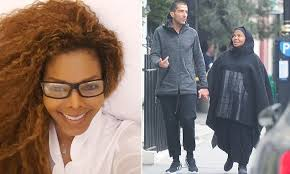 hairstyles for giving birth janet jackson gives birth to her first child at 50 daily mail online