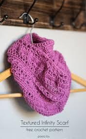 simple pattern crochet scarf 30 fabulous and free crochet scarf patterns