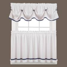 saturday knight kate 13 in l polyester valance in blue