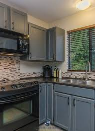 how to paint oak cabinets grey kitchen update ideas painted cabinets from oak to gray