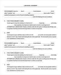 free lease agreement forms to download formats csat co