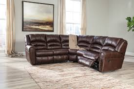 White Laminate Wood Flooring Furniture Wonderful Brown Recliner Sofa By Ashley Furniture