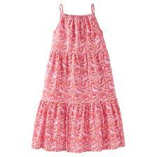 toddler girls u0027 leaf maxi dress just one you made by carter u0027s