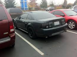 2003 Mustang Gt Black New Look Blacked Out Finally Done Ford Mustang Forum