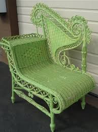 revived wicker chair