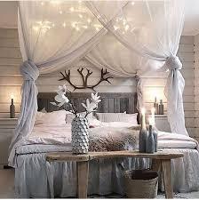 Diy Canopy Bed With Lights ᒪoᑌiᔕe Interior Design Pinterest Diy Bedroom