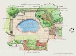 Simple Landscape Design by Download Landscape Design Plans Garden Design