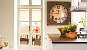 Scandinavian Wall Clock Scandinavian Interior Design With Colorful Touches U2013 A Little