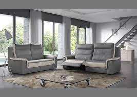 canapé haut dossier acheter votre canapé 2 places bicolore haut de dossier chez simeuble
