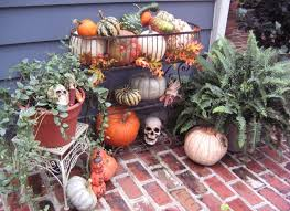 Corn Stalk Decoration Ideas 70 Cute And Cozy Fall And Halloween Porch Décor Ideas Shelterness