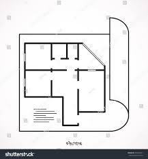 floor plan icon vector stock vector 476870521 shutterstock