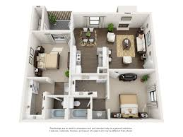 best two bedroom and two bathroom apartment decoration idea luxury