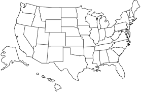 Blank Us Map Game by Math 481 Old Assignments