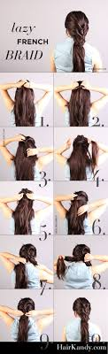 easy hairstyles for waitress s easy and quick tutorial boho like lazy french braid casual but