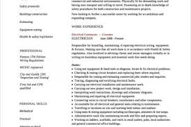Electrical Resume Examples by Foreman Journeyman Electrician Resume Samples Reentrycorps