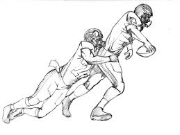 coloring pages of football players virtren com