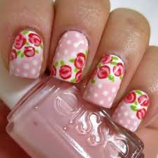 spring floral nail art designs 2017 pakifashionpakifashion