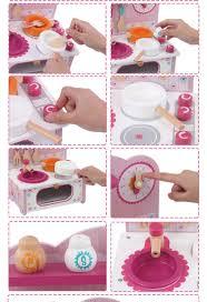 Toy Kitchen Set Food Baby Cooking Toy Kid Cooking Set Wooden Play Kitchen Toy Kitchen