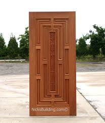 Wood Door Exterior Exterior Carved Doors Exterior Carved Mahogany Doors