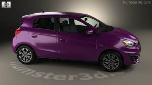mitsubishi pink 360 view of mitsubishi mirage gt 2017 3d model hum3d store