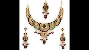 gold necklace types images Bridal golden necklace set different types gold necklace models jpg