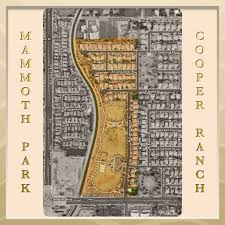 Map Of Chandler Az Mammoth Park At Cooper Ranch Chandler Arizona