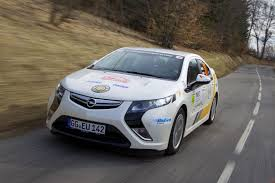 opel rally car opel ampera chevy volt wins monte carlo alt fuel rally