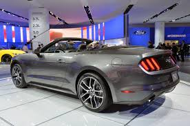 2015 ford mustang 2 3 photo gallery 2015 ford mustang convertible in magnetic