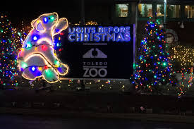 The Lights Before Christmas At The Toledo Zoo 2015 Youtube
