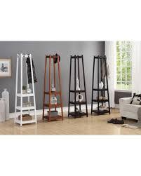 new savings on vassen 3 tier storage shelf standing coat rack