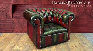 Green Chesterfield Armchair Chesterfield Red Green Leathers Patchwork Multicolour Leather Chair