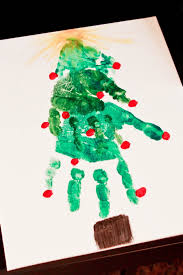 40 creative handprint and footprint crafts for christmas hand