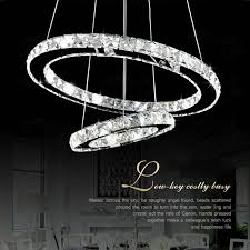 Ring Chandelier Modern Chandelierledcrystal Ring Chandelier Ring Light