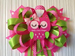 corsage de baby shower owl to be baby shower corsage