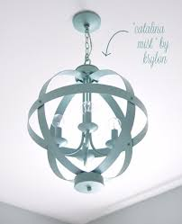 Painted Chandelier Spray Painted Chandelier Diy Projects For