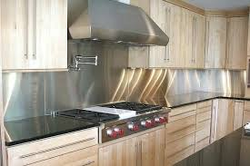 Stainless Steel Tiles For Kitchen Backsplash Stainless Steel Back Splash U2013 Instavite Me