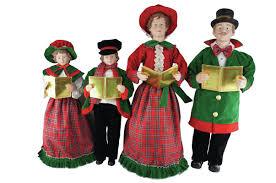 santa s workshop 4 day caroler figurine set