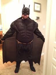 fat suit halloween does this suit make me look fat batman