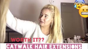 catwalk hair extensions catwalk hair extensions review