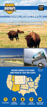 Map Of Wyoming And Montana by Mad Maps Usrt060 Scenic Road Trips Map Of Dakotas E Montana