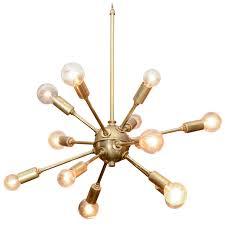 Vintage Sputnik Light Fixture Vintage Sputnik Brass Light Fixture Lights Real Estate And Bedrooms