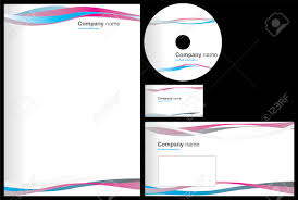 Business Card And Letterhead Business Package With Business Card Letterhead Envelope And